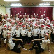 Božićni trening Zlatarbistričkih mažoretkinja