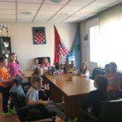 Učenici prezentirali eTwinning projekat Načelniku općine