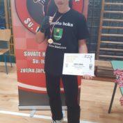 Sportski stipendist Lovro Brezovečki i dalje niže zlatne medalje
