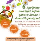 POZIVAMO VAS:  6. sajam 100 % domaće-eko-etno